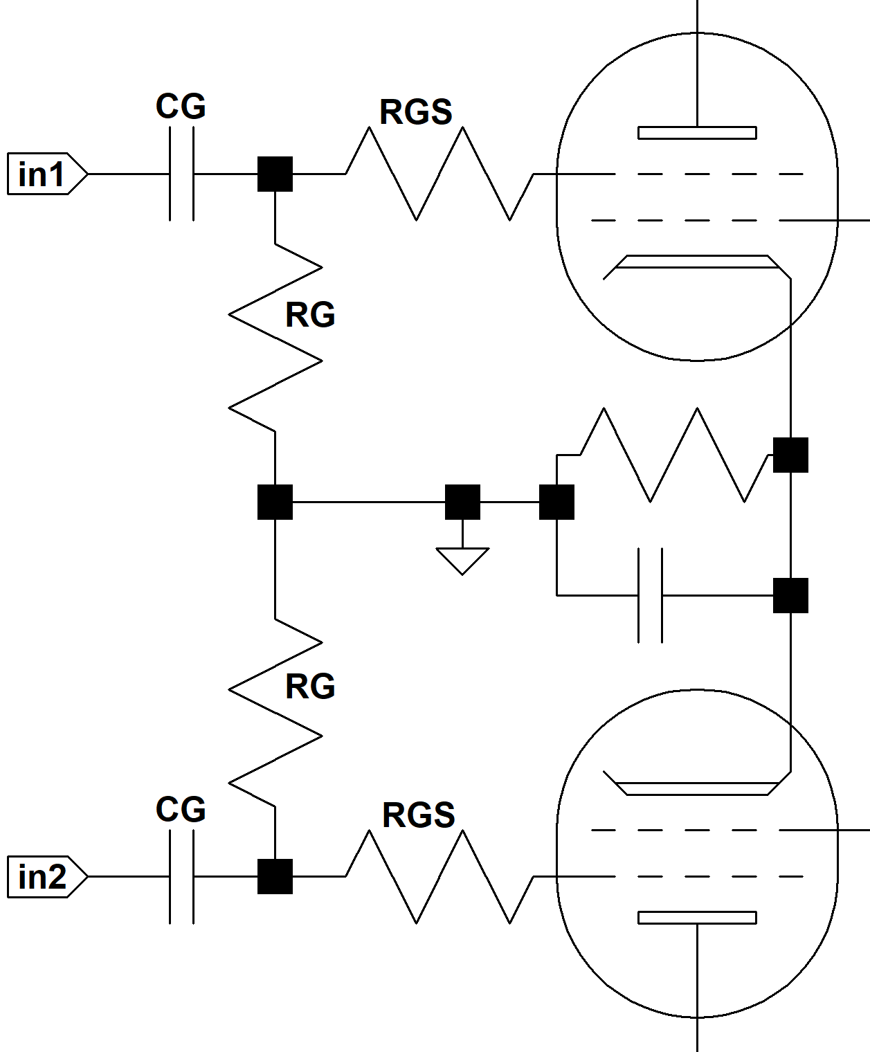 Figure 2 The Circuit Diagram Of Guitar Preamplifier Over Drive