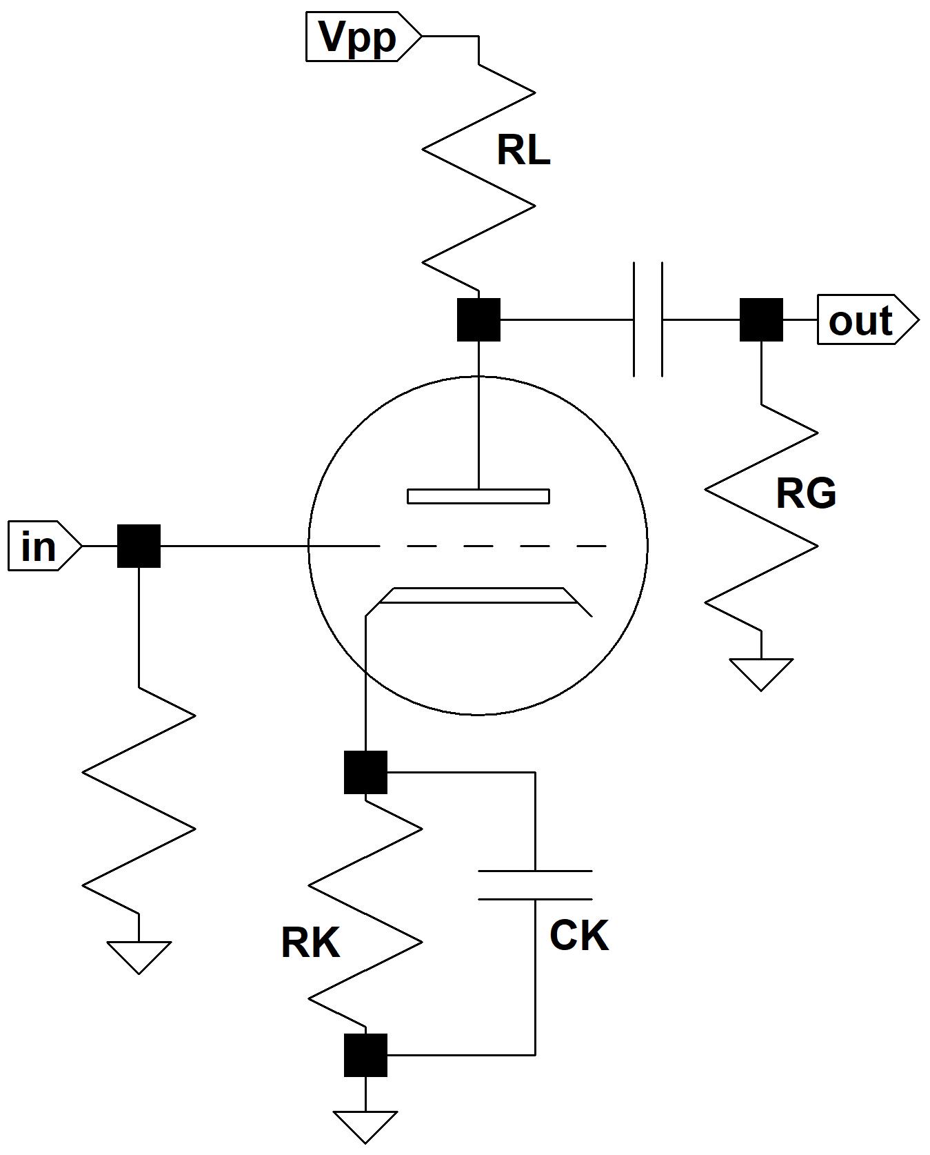 cathode bypass capacitor calculator