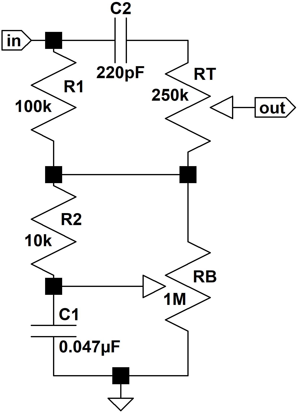 Hiwatt CP103 Tone Stack on
