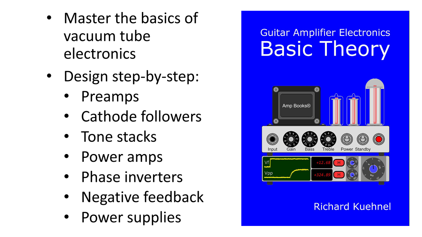 Guitar Amplifier Electronics Basic Theory book