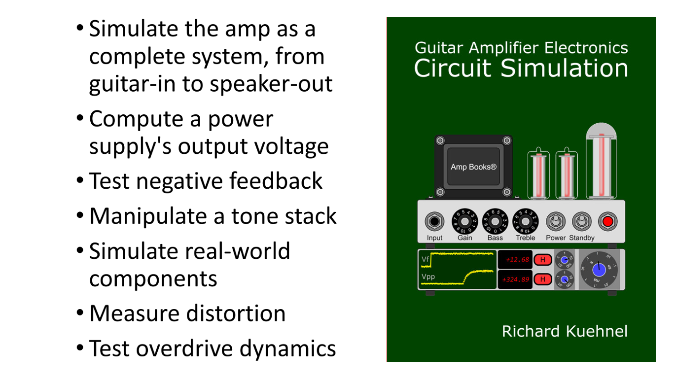 Guitar Amplifier Electronics Circuit Simulation book